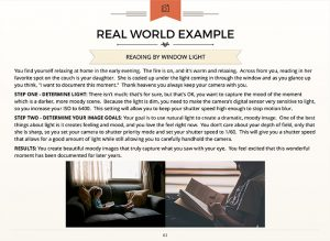 photography real world examples