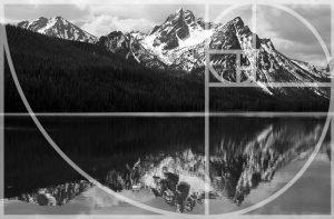 ansel adams using the fibonacci spiral