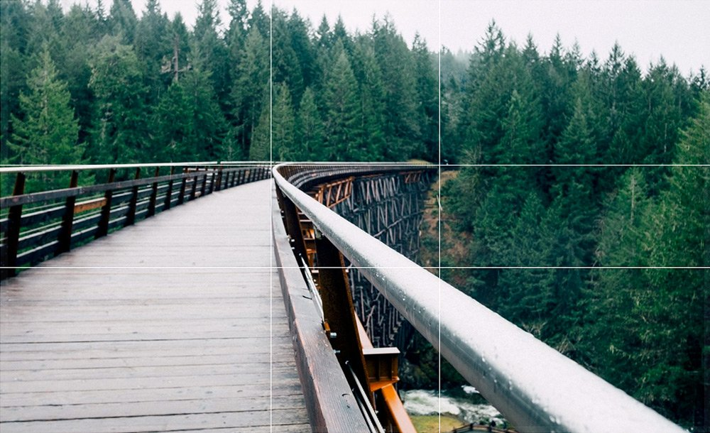 image of bridge showing golden ratio