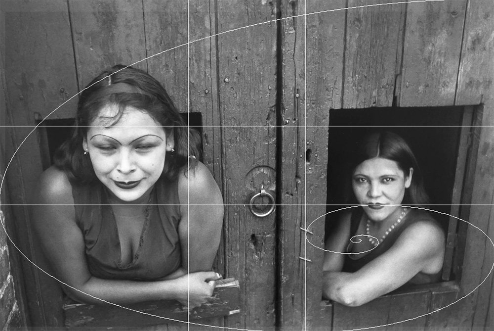 cartier-bresson using golden ratio