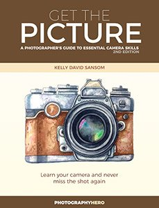 Cover to the book Get the Picture: A Photographer's Gude to Essential Camera Skills.